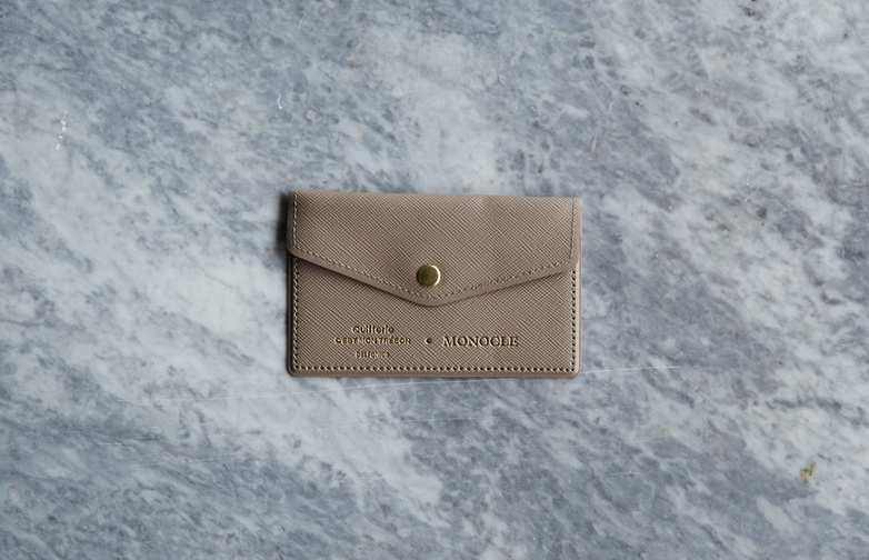 Delfonics Card Holder Sand