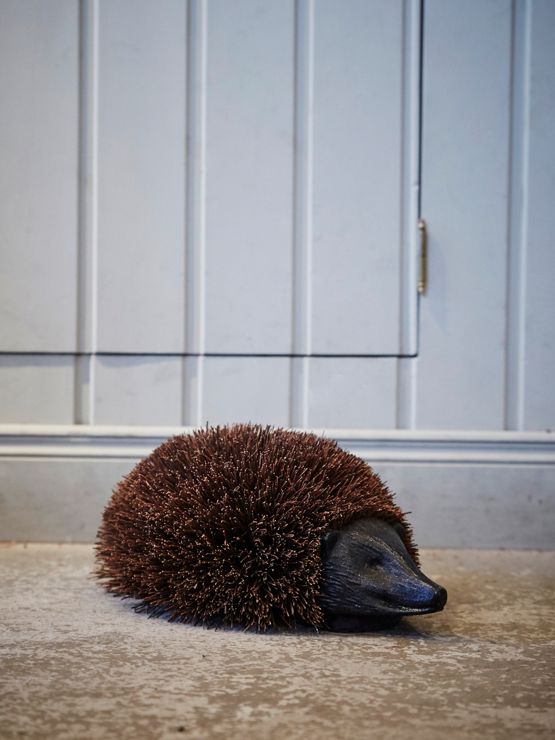 Door Mat Hedgehog