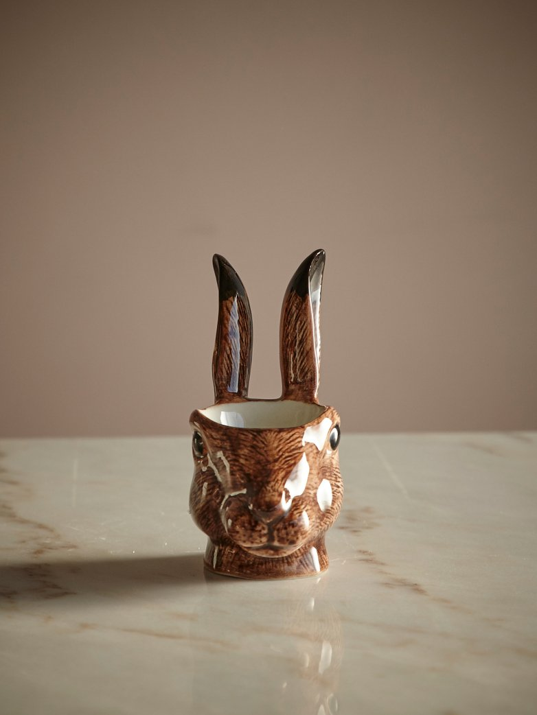 Hare Face Egg Cup