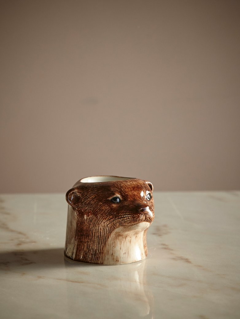 Otter Face Egg Cup