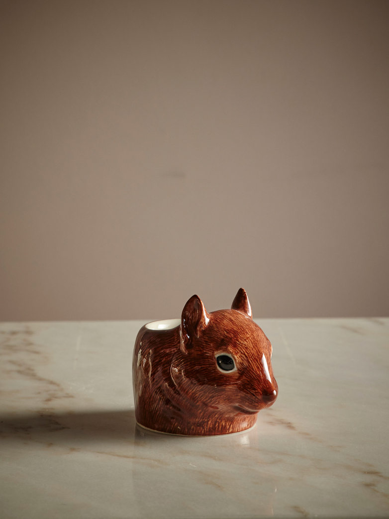 Squirrel Face Egg Cup