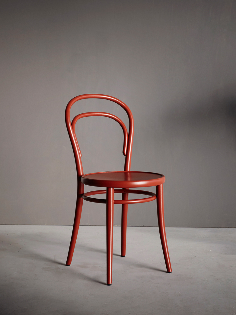 Chair No 14 – Red Berry - Wood