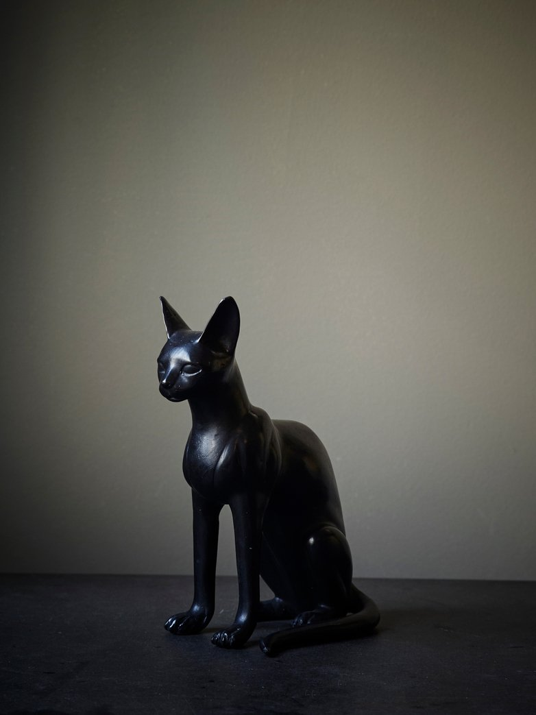 Cat 'Egyptian' Bronze Patina