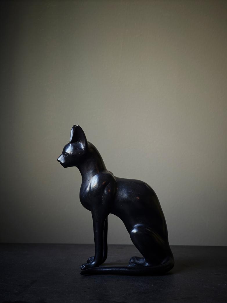 Cat 'Egyptian' Bronze Patina