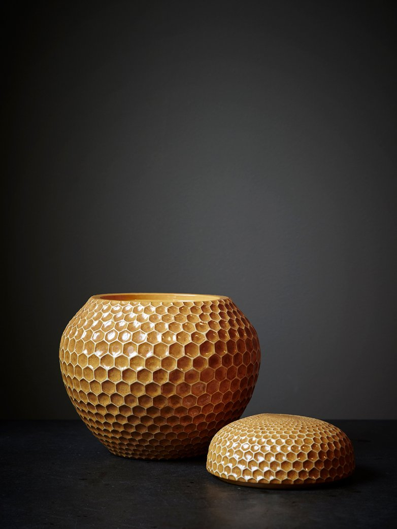 Ginger Pot Honey Comb