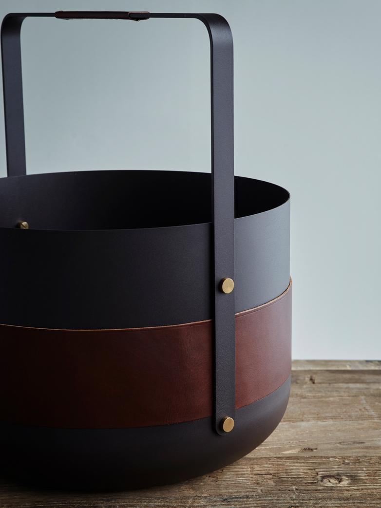 Wood basket Emma Havane