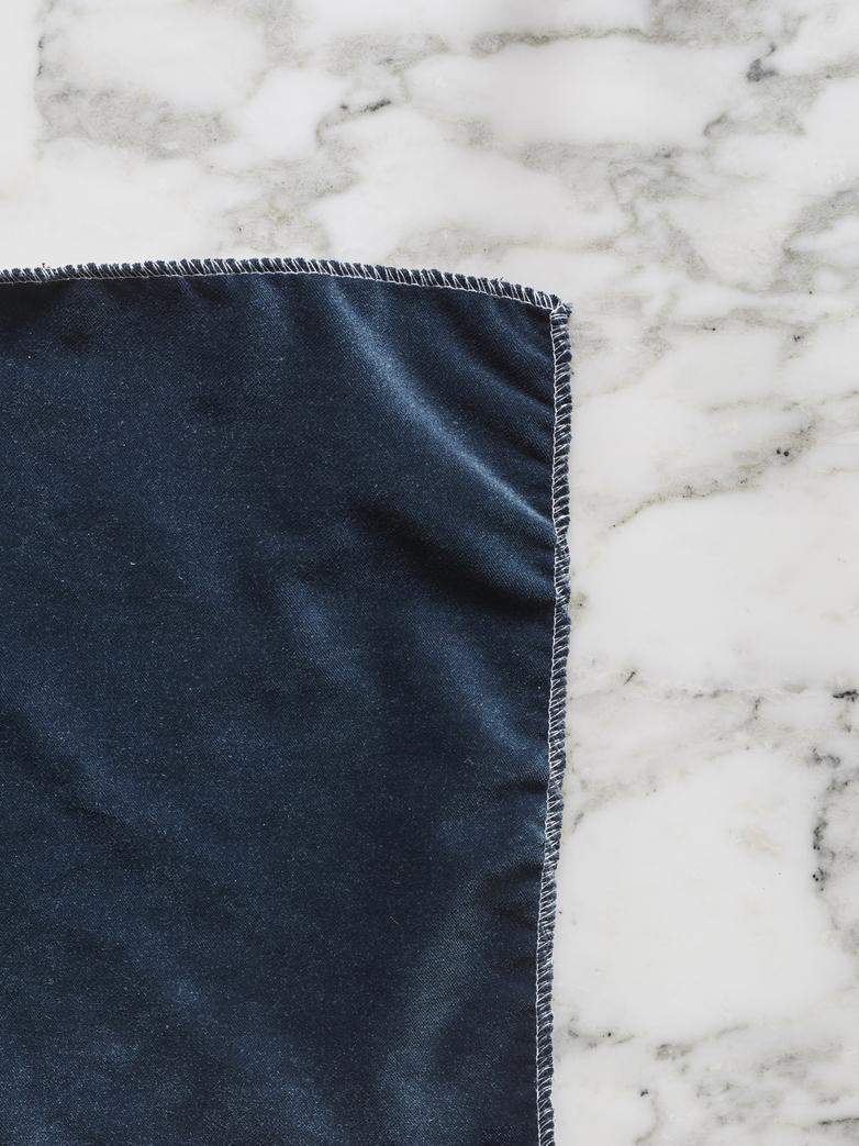 Gala Bleu Paon - 225 cm