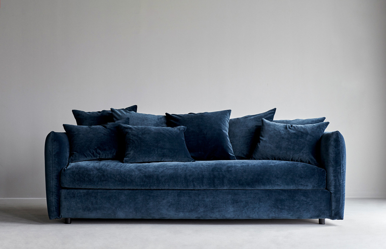 Gala Bleu Paon - 205 cm