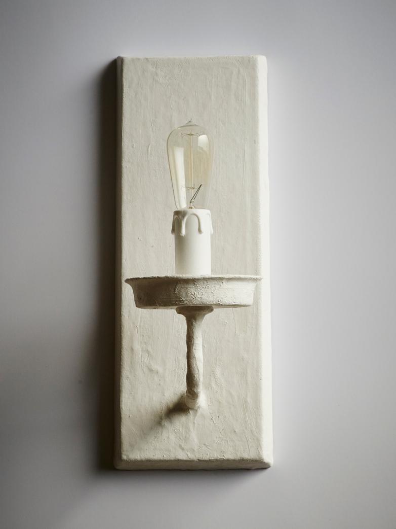 Challieres - Applique Blanco Walllamp