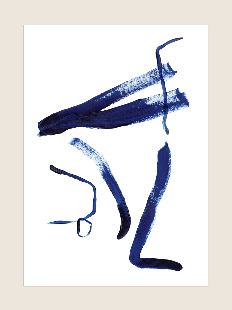 Japan Blue - 50 x 70 cm