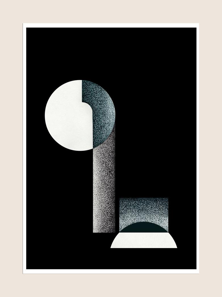 Bauhaus 2.0 - 50 x 70 cm