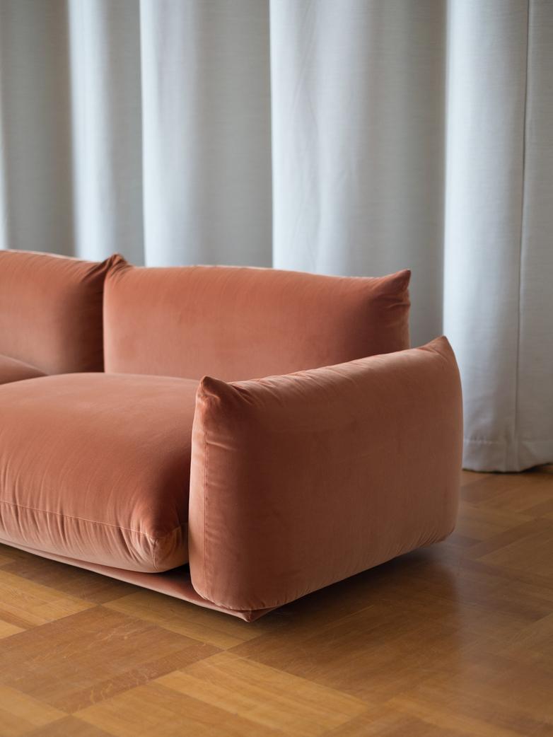 Marenco 2018  Sofa Four Seater - Amber