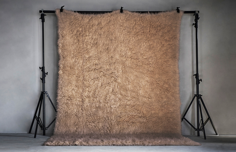 Berger Rug 350x450cm Light Beige