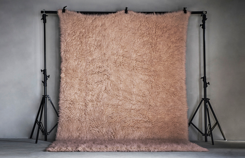 Berger Rug 350x450cm Whisper Pink