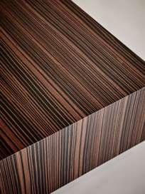 Boxed Sofa Table – 75 x 75 – Ebony