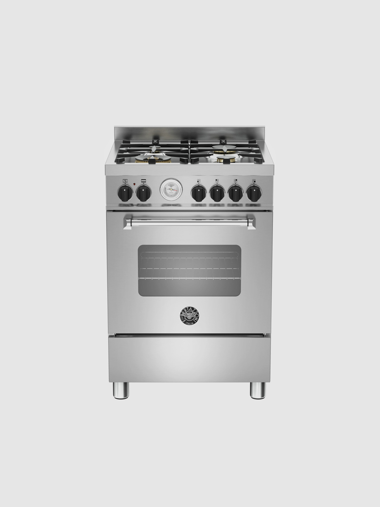 60 cm 4-burner electric oven