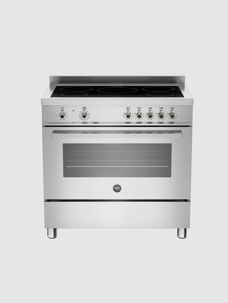 90 cm induction top, Electric Oven
