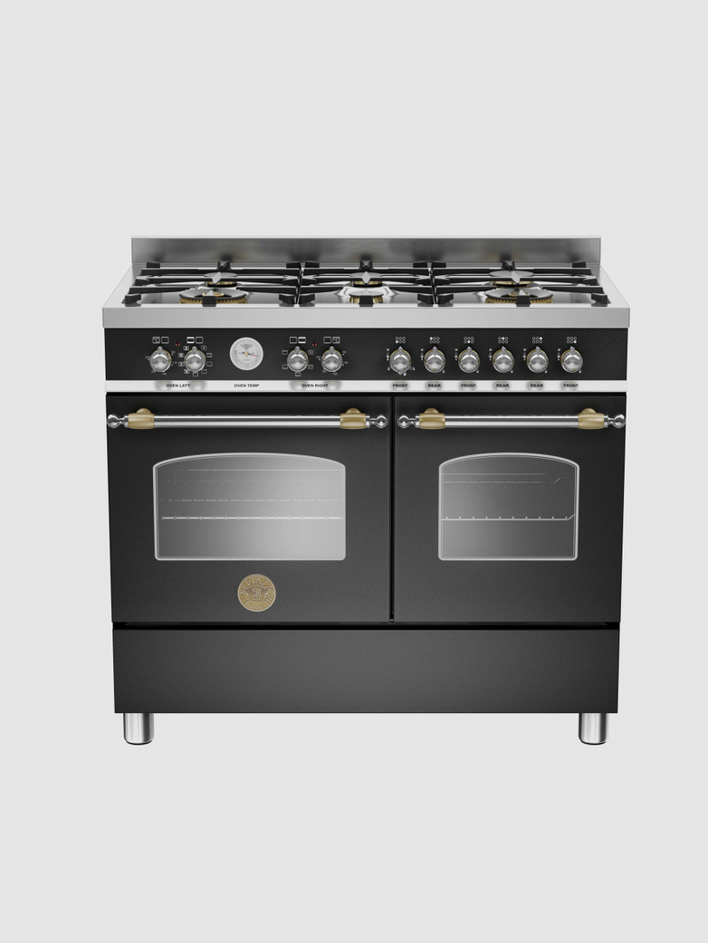 100 cm 6-burner electric double oven