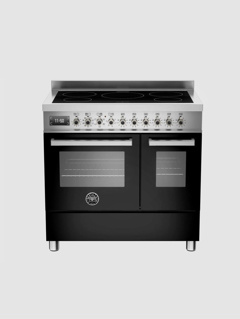 90 cm Induction Top Electric Double Oven