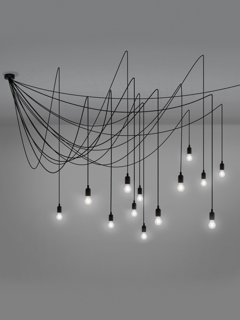 Maman Ceiling Lamp with 14 Bulbs