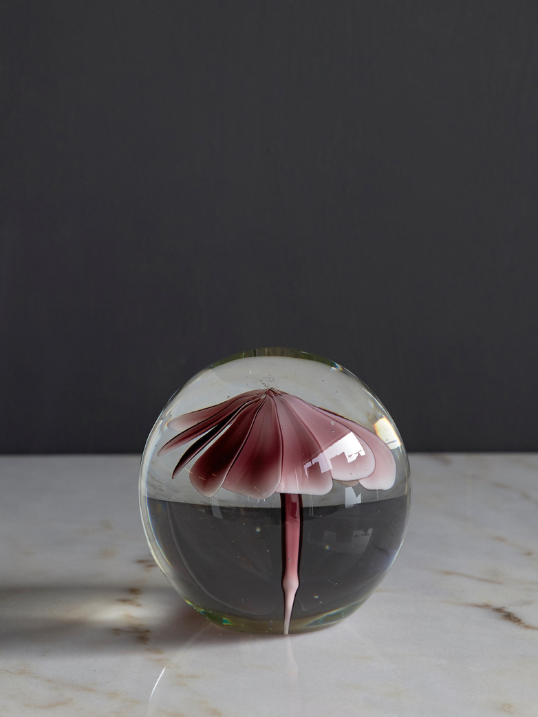Glass Flower Ball - Small