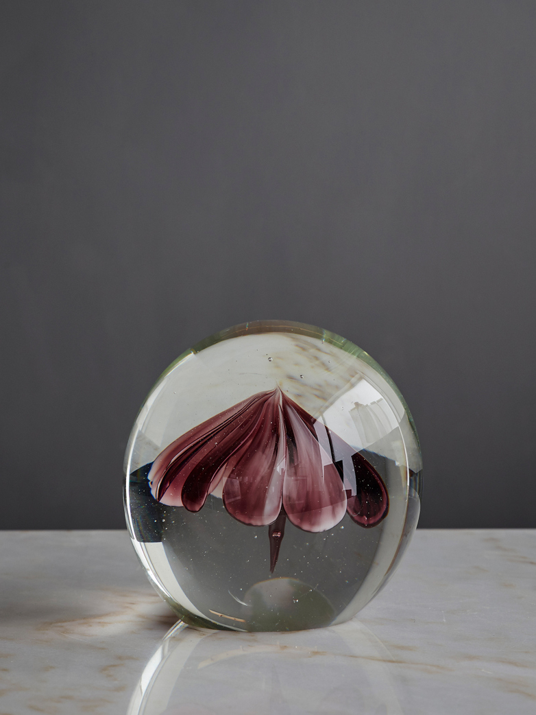 Glass Flower Ball - Large