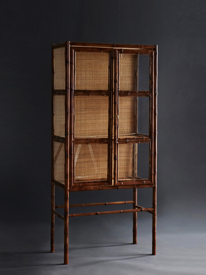 Display Cabinet Bamboo