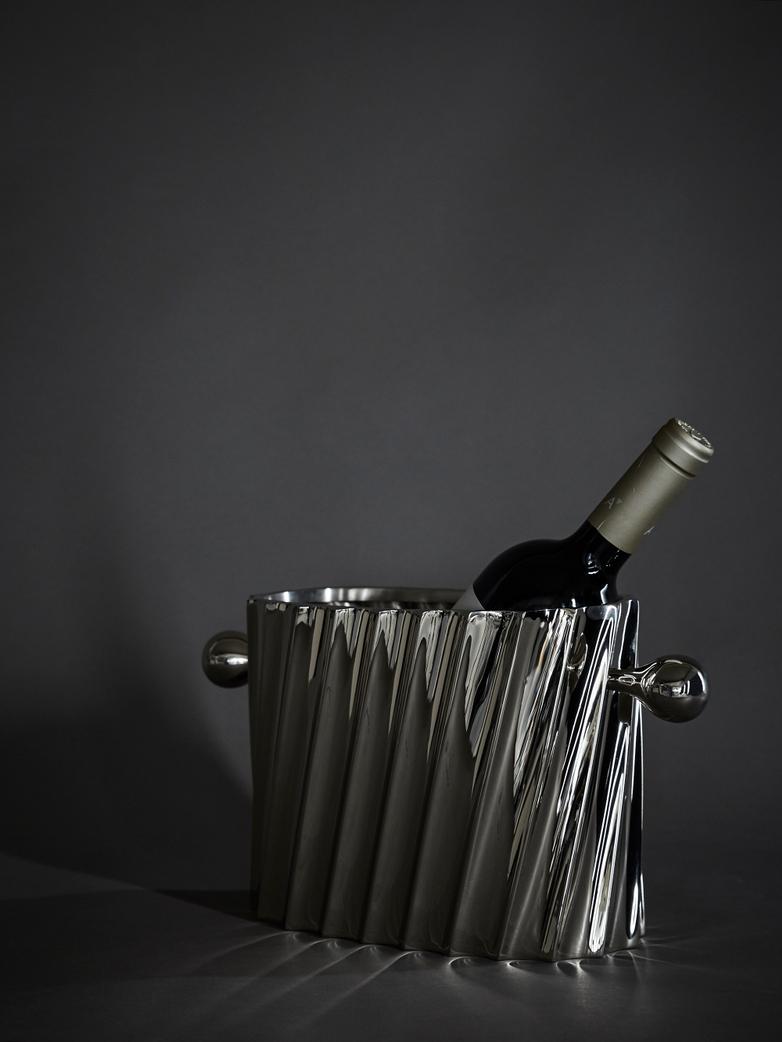 Wine Cooler Napa Nickel Finish