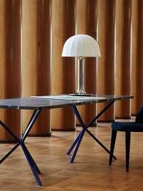 Verona Table Lamp - Nickel