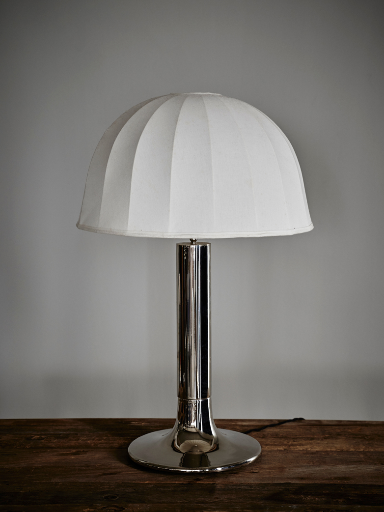 Verona Table Lamp - Nickel