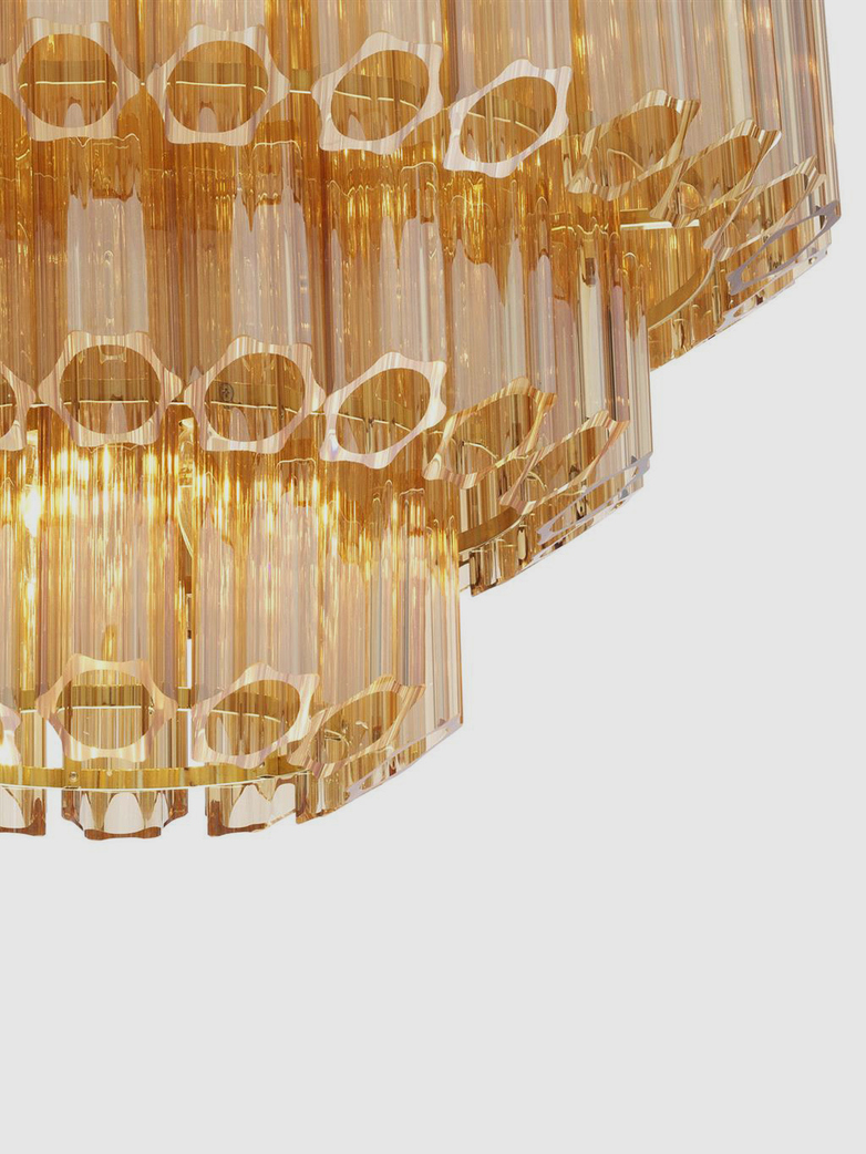Lucca Chandelier - Gold