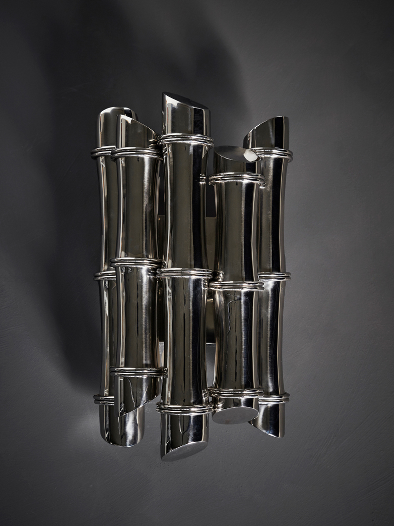 Bamboo Illuminated – Polished Stainless Steel