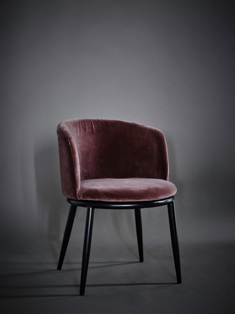 Filmore Dining Chair - Purple