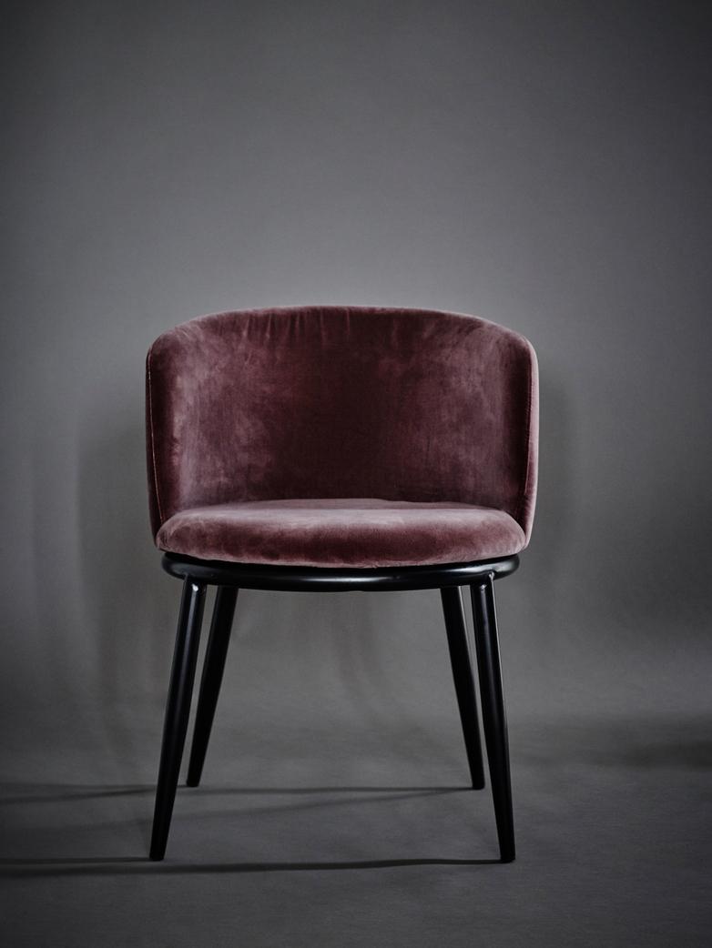 Filmore Dining Chair - Purple