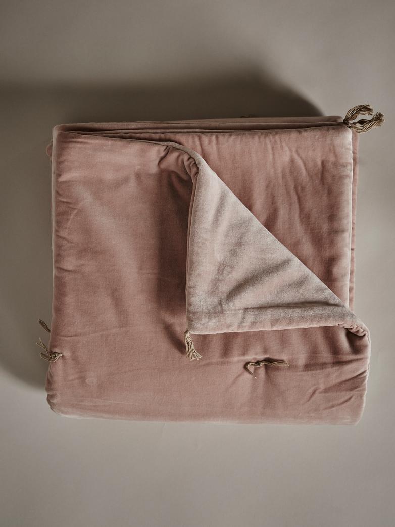 Velvet Sofacover – Pink Blush
