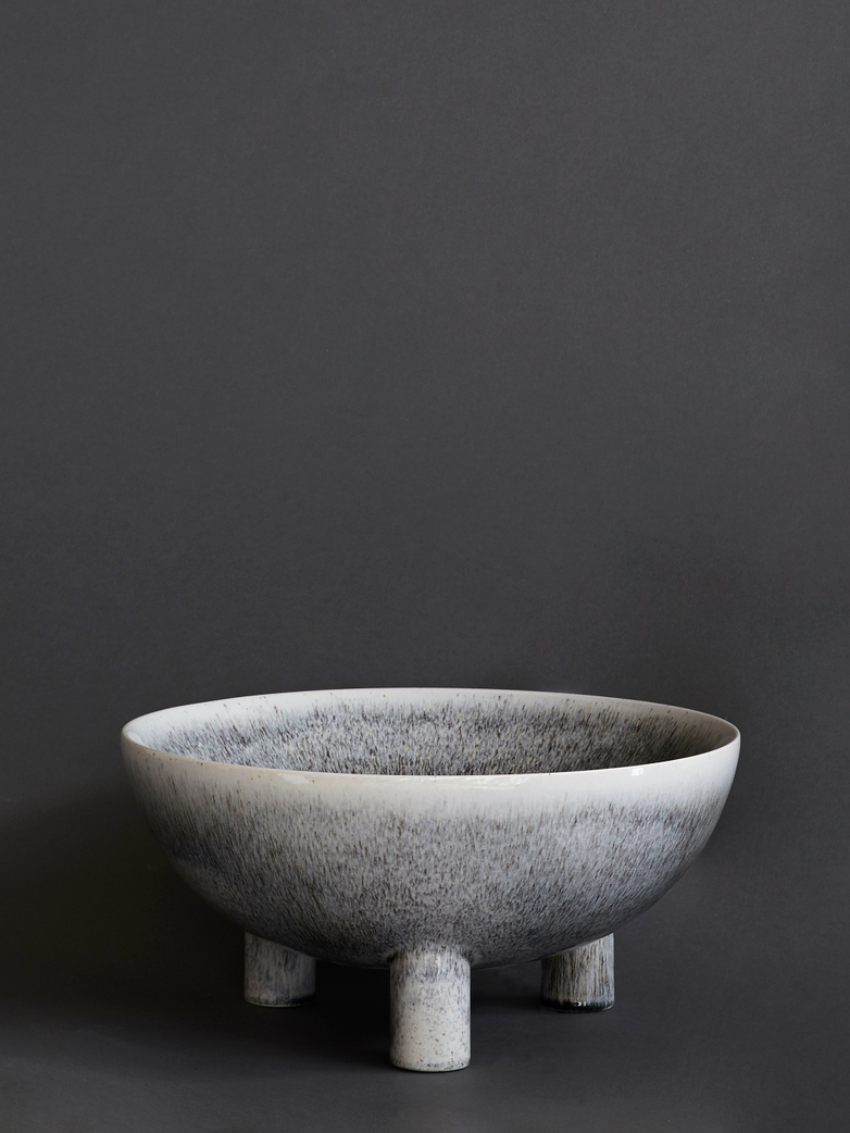 Verona Bowl Black and Grey