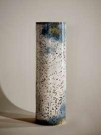 Dotted Vanilla Sky Vase