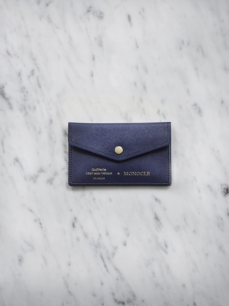 Delfonics Cardholder - Dark Blue