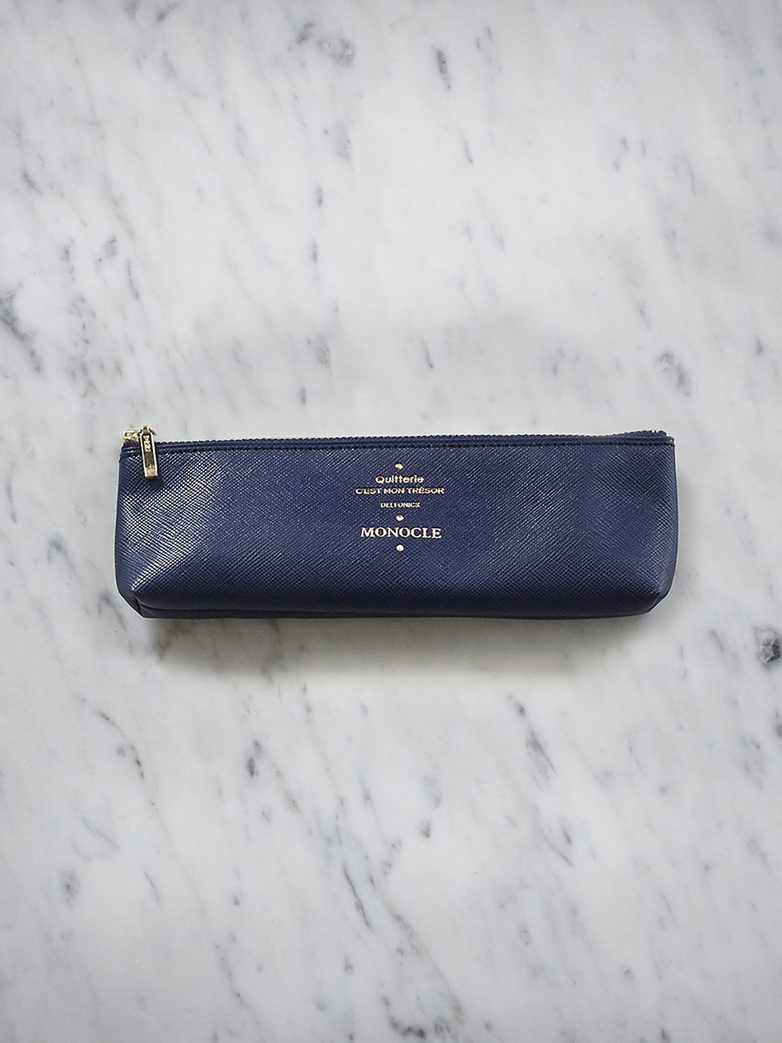 Delfonics Pencil Case - Dark Blue
