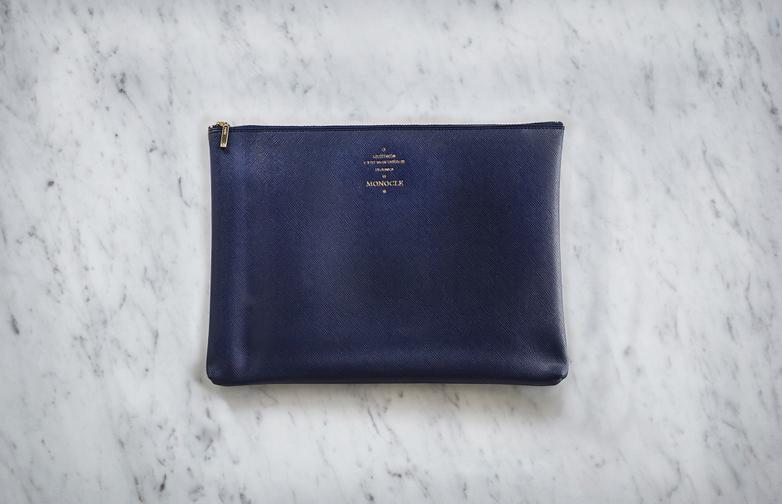 Delfonics Medium Zip - Dark Blue