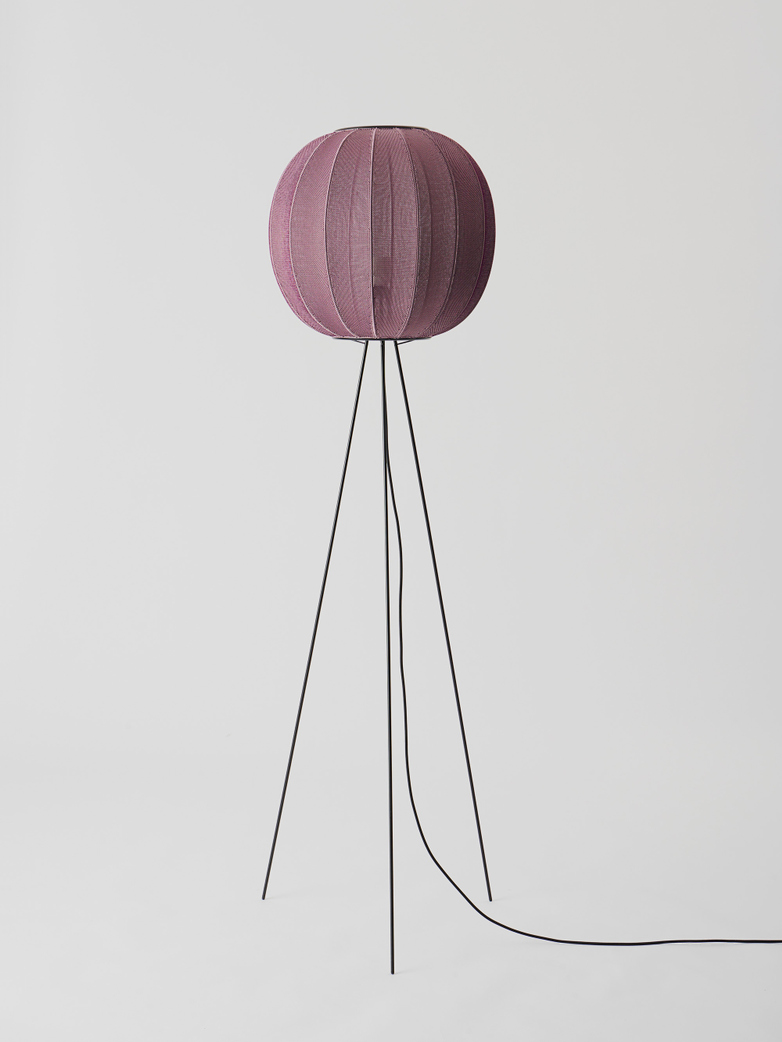Knit-Wit Floor Lamp - High Round 45 cm