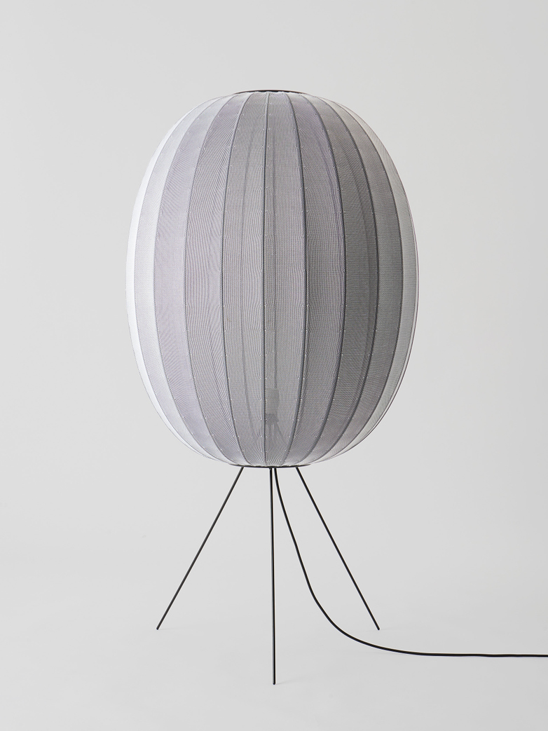 Knit-Wit Floor Lamp - Medium High Oval 65 cm