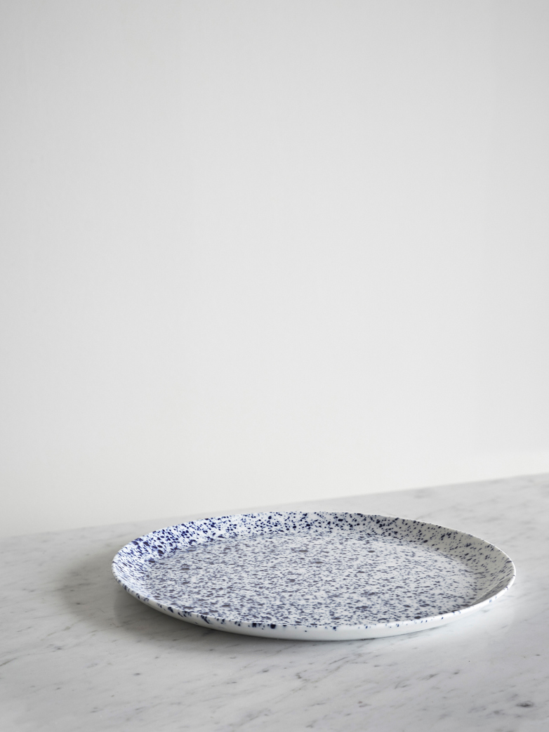 Blue Magma Tableware Round Plate 32 cm