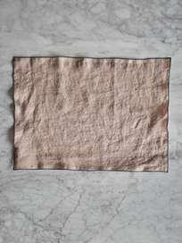 Place Mat Washed Linen Aubepine - 35x45cm
