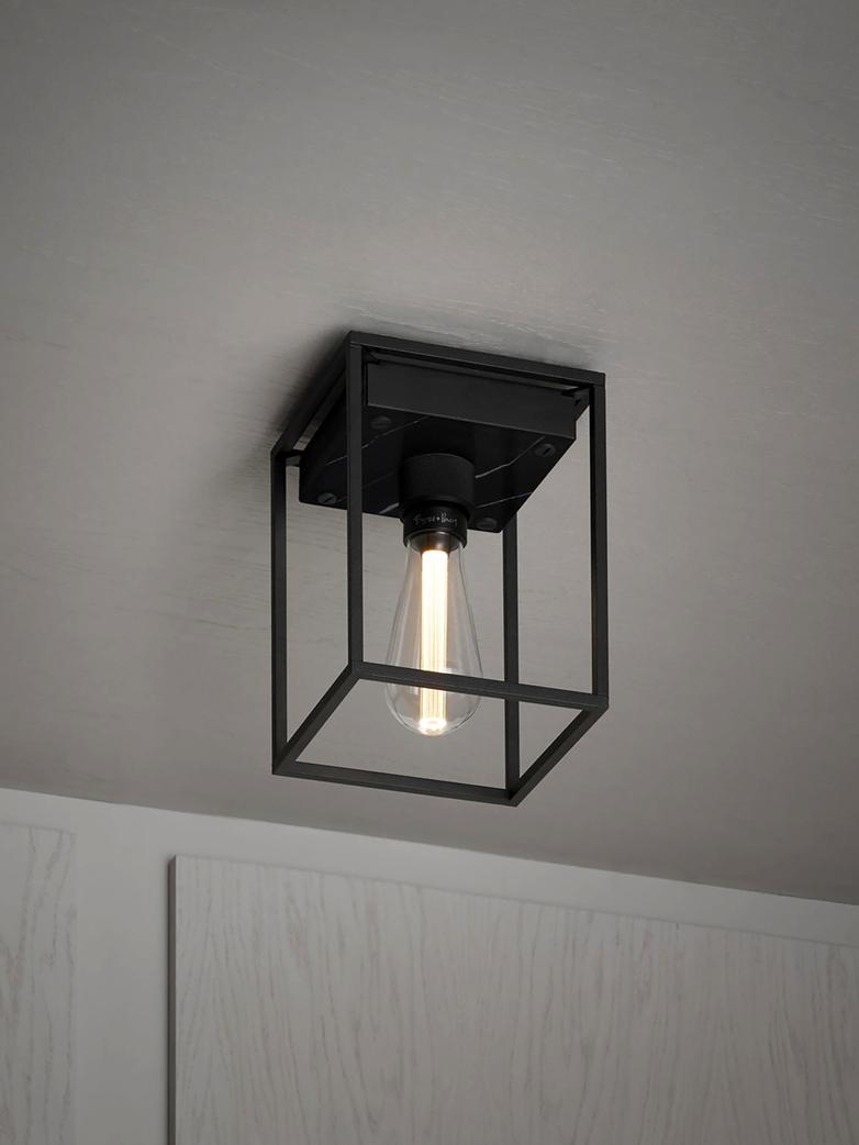 Caged Ceiling 1.0 - Medium - Satin Black Marble