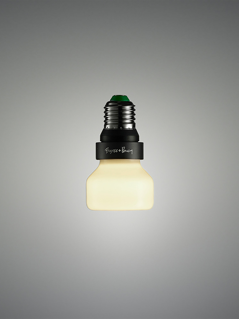 Punch Bulb Dimmable Opal Glass