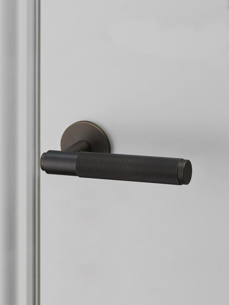 Door Lever Handle 30 mm - Smoked Bronze