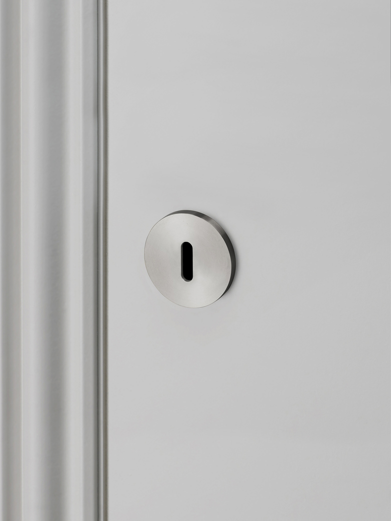 Key Escutcheon Plate - Steel