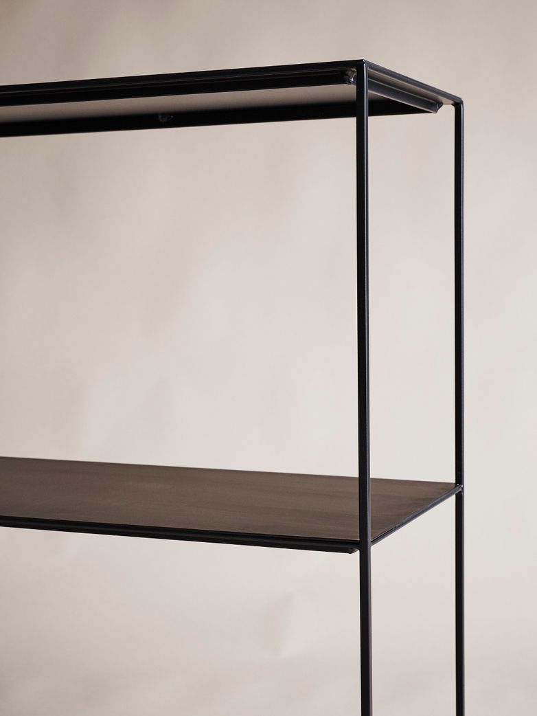 Slim Irony Sideboard - Black - Short