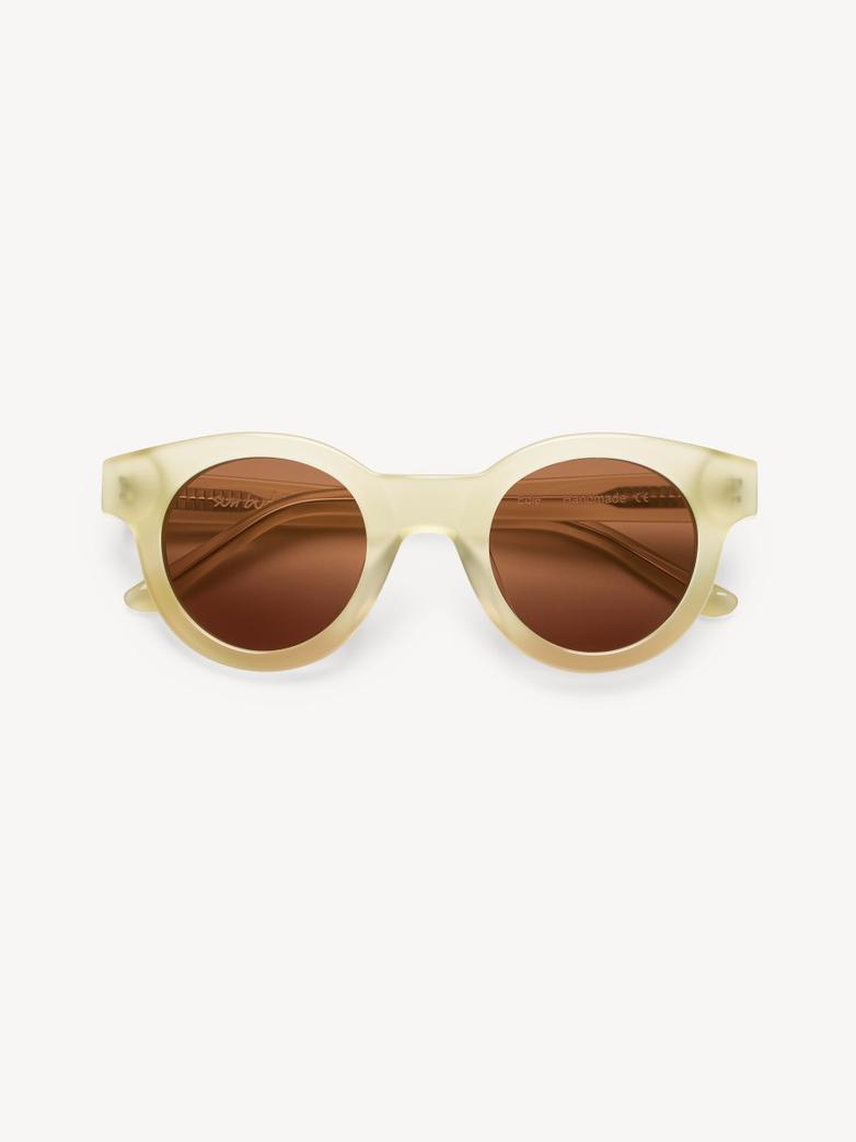 Sunglasses Edie - Milky Citrus
